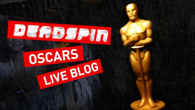 Your 100 Percent Bile-Filled Oscars Live Blog
