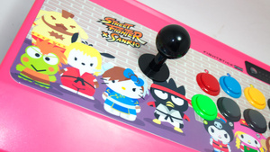 Street Fighter X Sanrio Arcade Fightstick Pro: The Kotaku Review