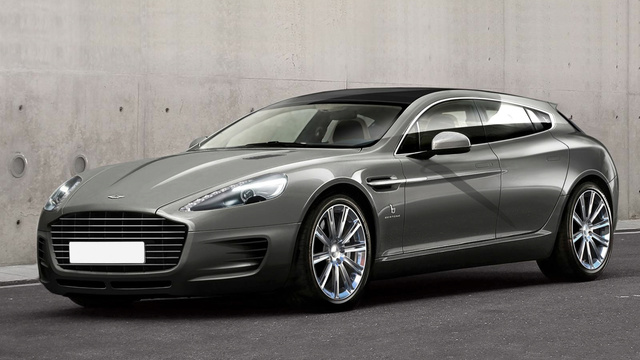 This Aston Martin Rapide Wagon Is Sextastic