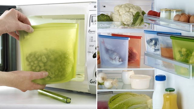 Click here to read Silicone Storage Bags Will Make You Wish Every Meal Was Leftovers