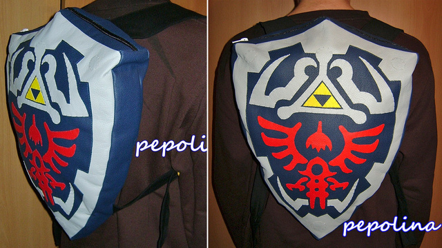 Click here to read Carry Zelda's Homework In This Fantastic Hylian Shield Backpack