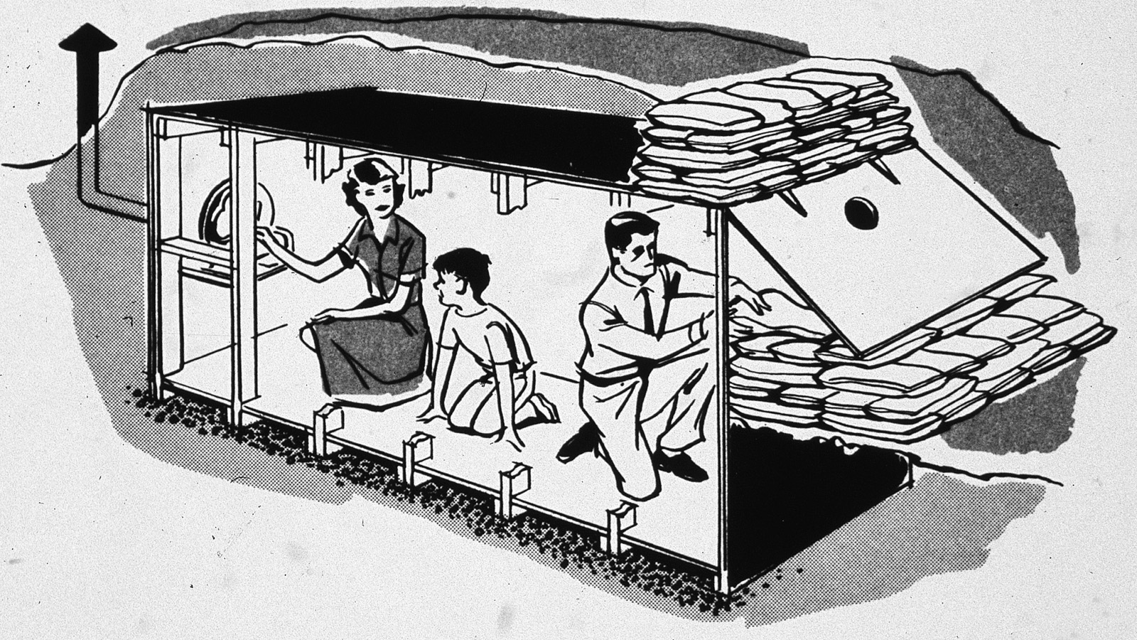 Backyard Fallout Shelter ride out north korea's preemptive strike in these 24 cold war