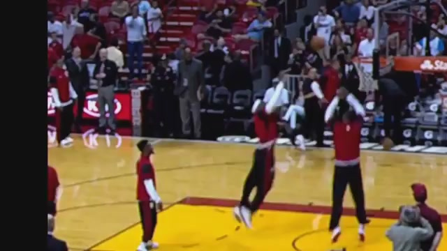 LeBron James's Pregame Warmup Dunk Was Better Than Anything In …