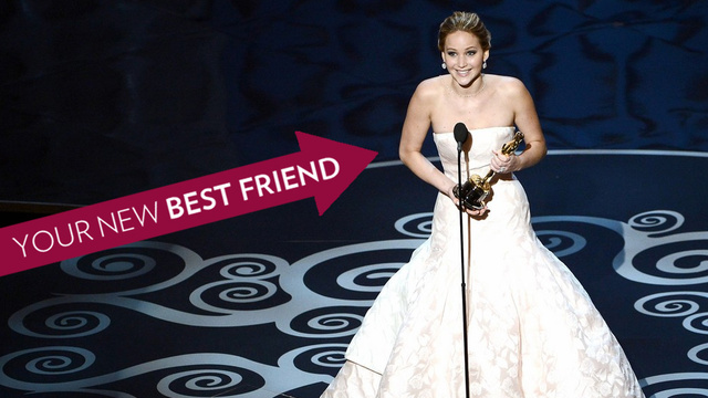 11 Reasons Why Jennifer Lawrence Is Your BFF in Your Head