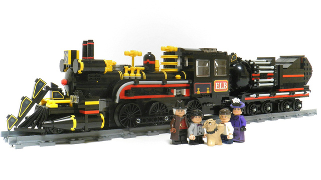 Click here to read The Lego Back to the Future Time Machine Train Is a Must Have