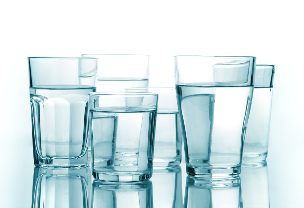 Approximately How Many Ml Of Water Is In  Glasses