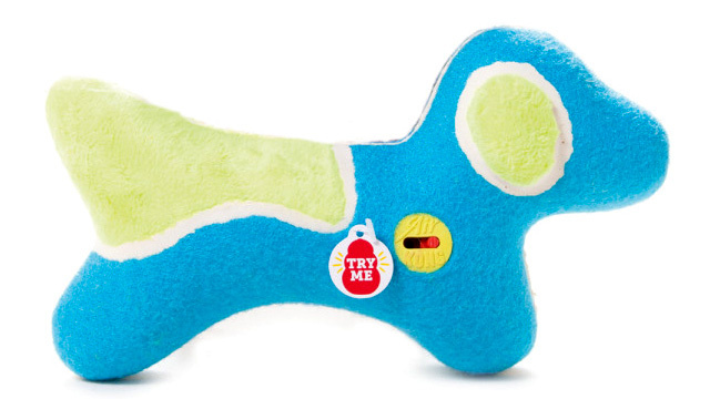 Click here to read Squeaky Toys With Mute Buttons Will Save Dog Owners' Sanity