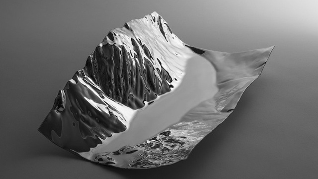 Click here to read This Stunning Steel Centerpiece Is Made from the Mountain It's Modeled After