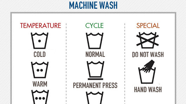 Learn All Those Complicated Laundry Instructions With This Handy Chart Lifehacker Australia