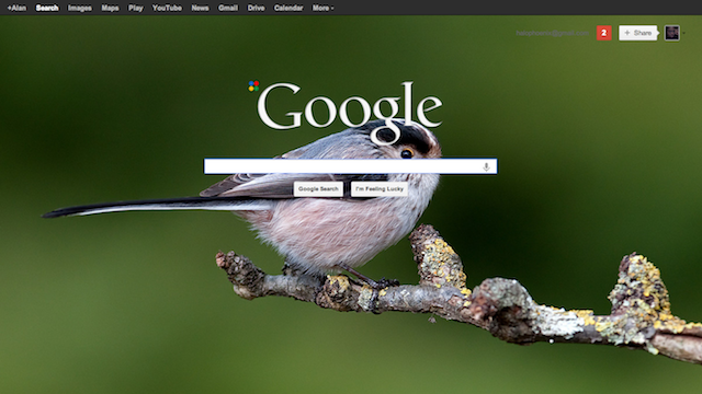 Custom Google Background for Chrome Personalizes Your Google Searches