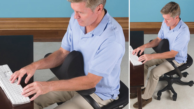 Click here to read Perfect Posture Can't Be Worth a Chair This Awkward