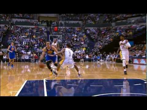 Stephen Curry Pulls Off Two Sublime Crossovers, Is Brilliant