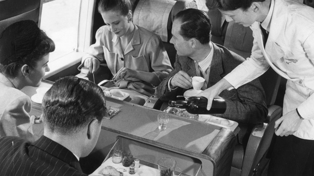 Scenes From When Flying Was Still Civilized
