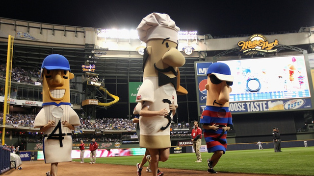 A Hero Emerges In The Milwaukee Racing Sausage-Napping
