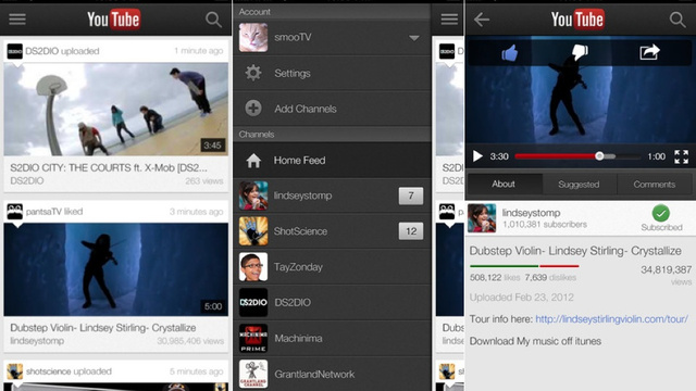 Click here to read YouTube iOS App Now Beams Video to Your TV