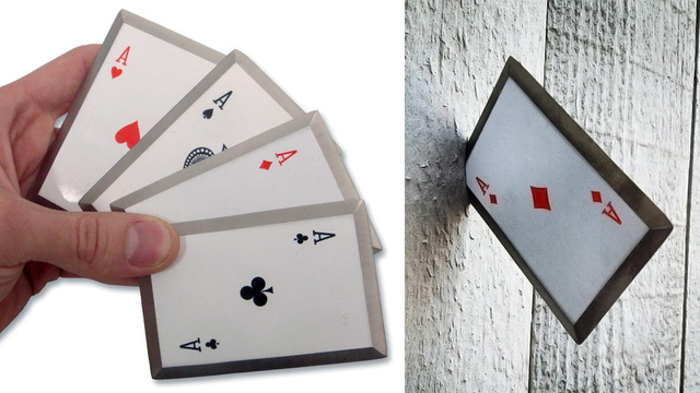 Click here to read Live Out Your Gambit Fantasies With a Set of Sharpened Steel Throwing Cards