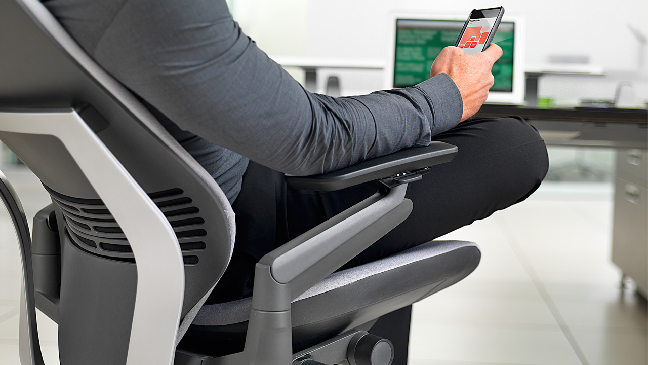 via office chairs. [Steelcase Via PSFK] Office Chairs N