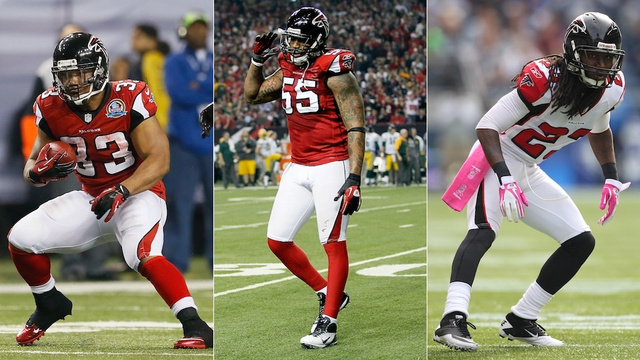 Falcons Cut Michael Turner, John Abraham, And Dunta Robinson