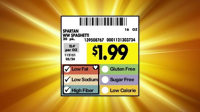 Look For Unit Pricing to Save Money at the Grocery Store