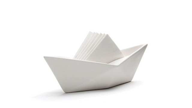 Click here to read A Sailboat Napkin Holder Is the Most Clever Napkin Holder