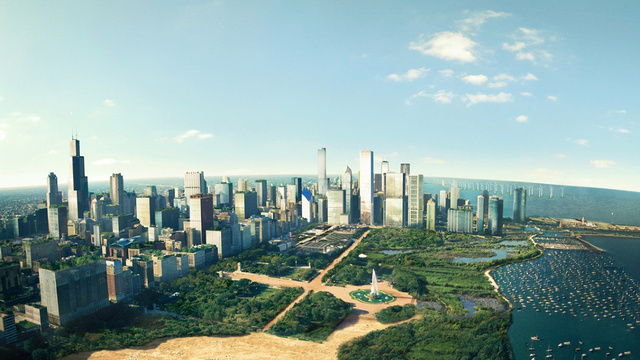 Is this the city of the future?