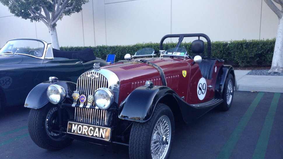 EXCLUSIVE: Morgan Debuts Their 2014 Plus 8 Roadster at Cars and Coffee