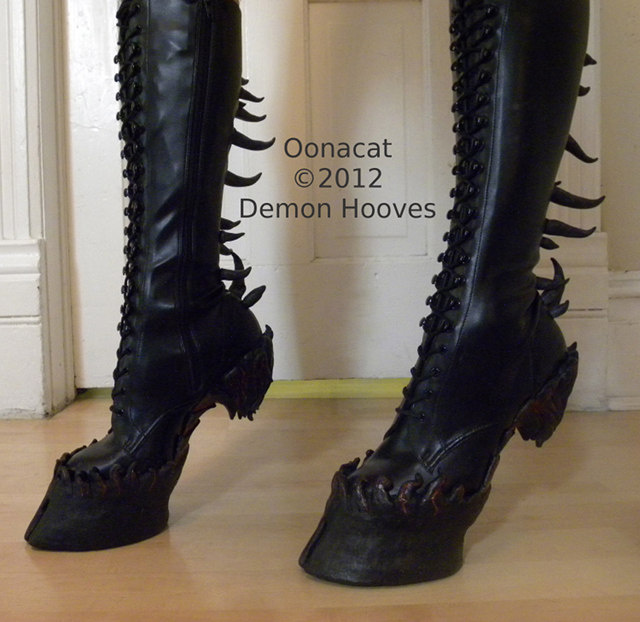 Unicorn hoof boots to sexually excite the fantasy horse fetishist in us all