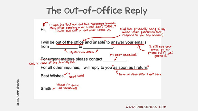 Click here to read What the Out-of-Office Reply Really Means