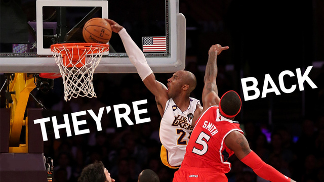 Kobe Dunks Like Kobe Hasn't Dunked In Years, And The Lakers Are…