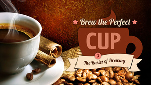 Brew the Perfect Cup, Lesson 3: The Basics of Brewing
