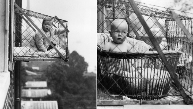 Putting Your Baby in a Cage Used to Be Perfectly Acceptable