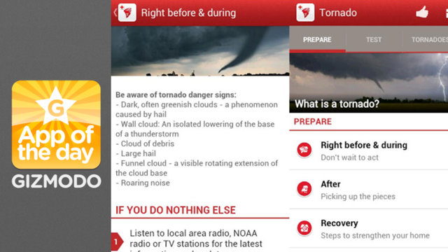 Click here to read Red Cross Tornado App: What To Do When a Twister Touches Down