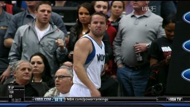"J.J. Barea Ejected After Shoving Ray Allen, Calls Him A ""F…"