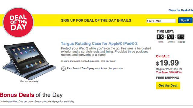 Click here to read Best Buy's Deal of the Day Ad Uses (GASP!) a Jailbroken iPad (Updated)