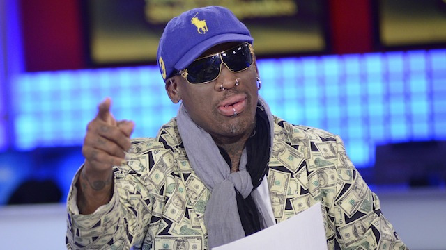 Dennis Rodman Reportedly Kicked Out Of Hotel Bar For Talking About How Rad Kim Jong Un Is