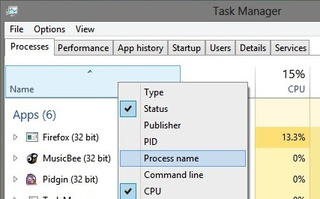 How to Customize the Windows 8 Task Manager
