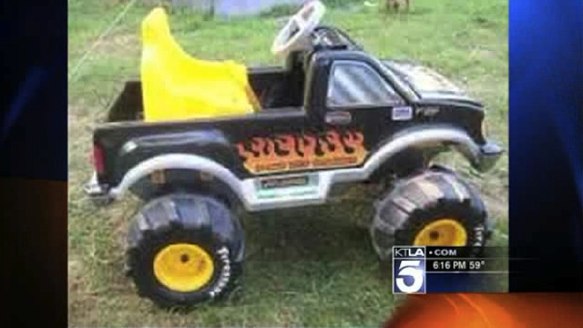 Half-Naked and Drunk Arkansas Woman Attempts to Escape Police in Toy Power Wheels Truck