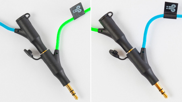 Duobuds Let You Stack Your Earbuds and Share Your Music