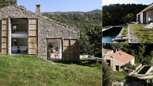 An Abandoned Stable-Turned-Villa That Lives Off the Land