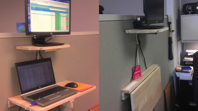 Collapsible Standing Desks, Leaking Contact Lens Solution, and Google Calendar Attachments