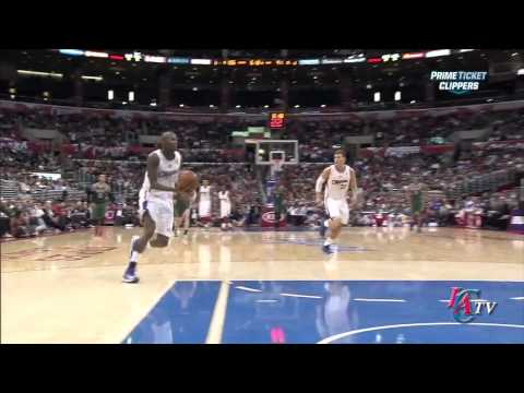 Jamal Crawford Goes Between-The-Legs To Set Up Blake Griffin Wi…