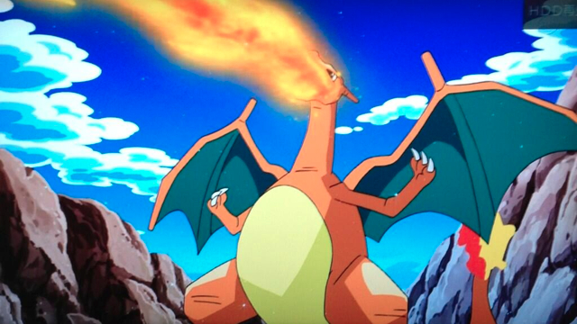 After Over 13 Years Ash S Charizard Returns To The