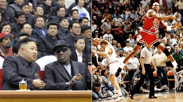 Some Of The Greatest Games in NBA History, Re-Scored Under North Korean Rules