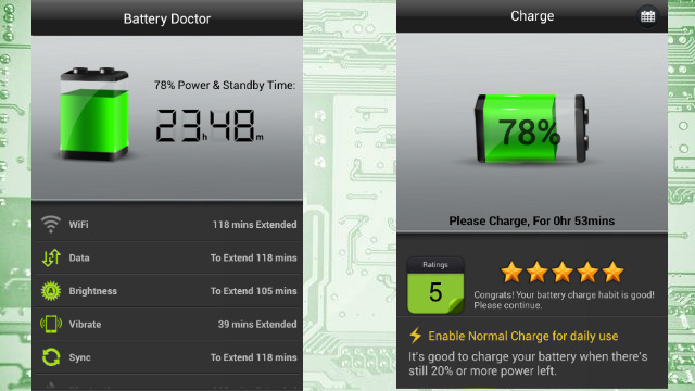 Battery Doctor Encourages Good Charging Habits on Android