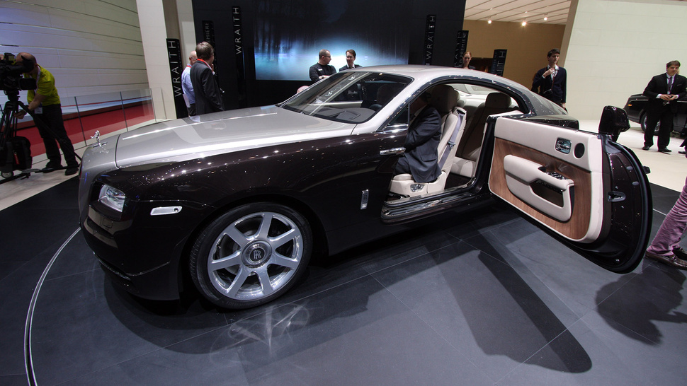 The Rolls Royce Wraith Has Massive Suicide Doors