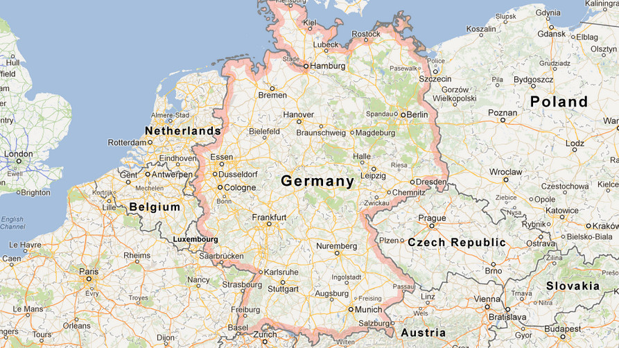 Google Germany Map A German ...