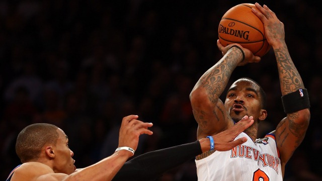 Who Shot? J.R.: Why We Love The Knicks' Gunner