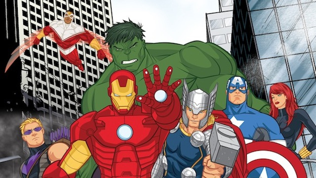 Avengers Cartoon Drawings Free Avengers Cartoon