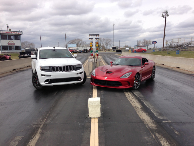 Image: Cherokee SRT 8 and SRT Viper