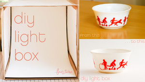 Turn a Cardboard Box into a Photo Light Box